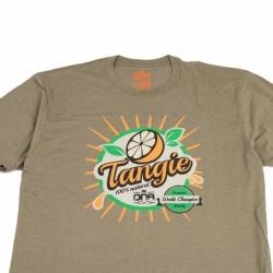 DNA Genetics - T-shirt Tangie Juice Olive Green / Multi
