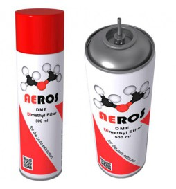 AEROS - DME cylinder - Dimethyl ether for extractions - 500 ml