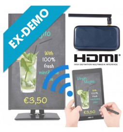 (ED)  Mini PC Android con App Digital Signage