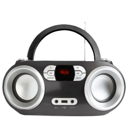 Bluetooth radio with CD and MP3 player
