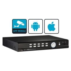DVR Tribrid 4 Canali FullHD Con App Android e iOS
