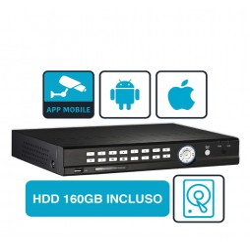 Tribrid DVR - 4-channel video recorder