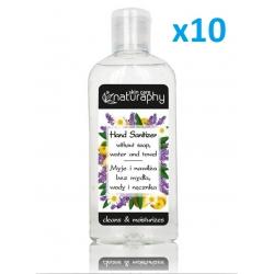 Antibacterial gel 100ml - 10x