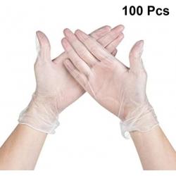 Guanti in PVC (100 pezzi) -...