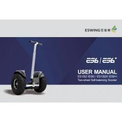 Segway Eswing ES6 / ES6 + - Digital Manual