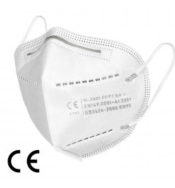 KN95 Protective Masks - Pack of 2 Pieces