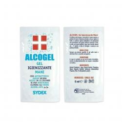 Alcogel - Hand sanitizing gel with alcohol (50x6ml)
