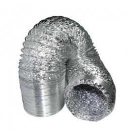 Aluflex - Aluminum flexible hose (Ø 102mm - 10mt)