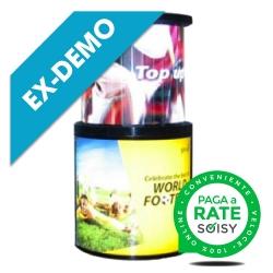 (ED) 360 ° Cylindrical Advertising Monitor