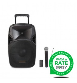 """Portable Amplified Speaker (15 """"Woofer) with Bluetooth and MP3"""
