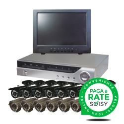 Large video surveillance kit