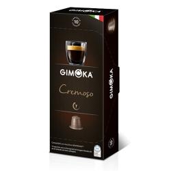 Gimoka Cremoso - Decaffeinated coffee in capsules (10x)