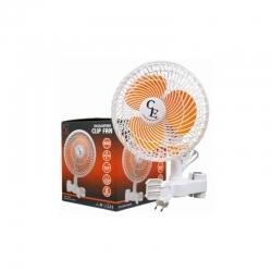 Cornwall Electronic - Ventilatore a Clip Oscillante - 20W - Clip per Grow Box