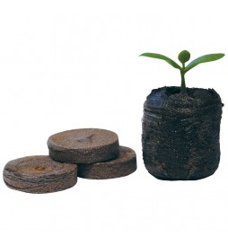 Jiffy - Pressed peat discs ideal for sowing