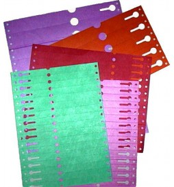 PVC labels with slot for plant titration (10 pieces)