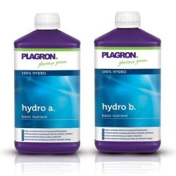 PLAGRON Hydro a+b - Fertilizzante organico bicomponente (2 x1L)