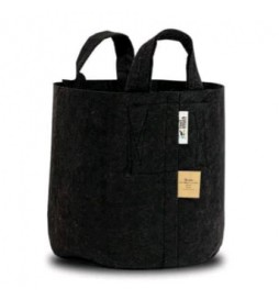 Root Pouch Black - Black fabric pot with handles (30L)