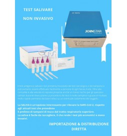 Salivary antigenic rapid test for Covid-19 (25 pieces)